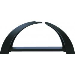 Rauta Edition FG - LED-Schwibbogen modernes Design anthrazitgrau lackiert unbestückt