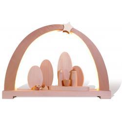 Rauta Edition FG - LED-Schwibbogen mit Heiliger Familie