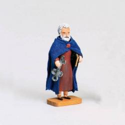 Walter Werner -  Apostel Petrus mit Schlüssel und Buch