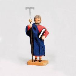 Walter Werner - Apostel Philippus mit Kreuzstab und Buch