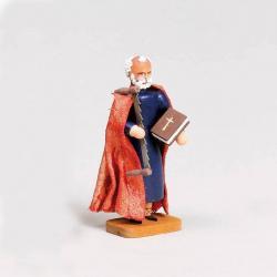 Walter Werner - Apostel Simon mit Schrotsäge und Buch
