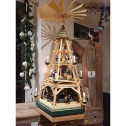 Walter Werner - Elektrische Göpelpyramide mit Unterbau