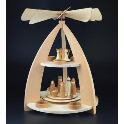 Rauta Edition FG  - 2-stöckige Pyramide modernes Design Krippenfiguren