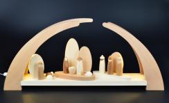 rauta edition fg led schwibbogen mit krippenfiguren moderne fachgesch ft aus. Black Bedroom Furniture Sets. Home Design Ideas